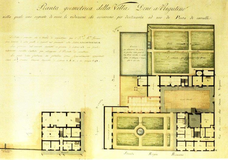 Villa Dini Rigutino 1910, poste a Rigutino