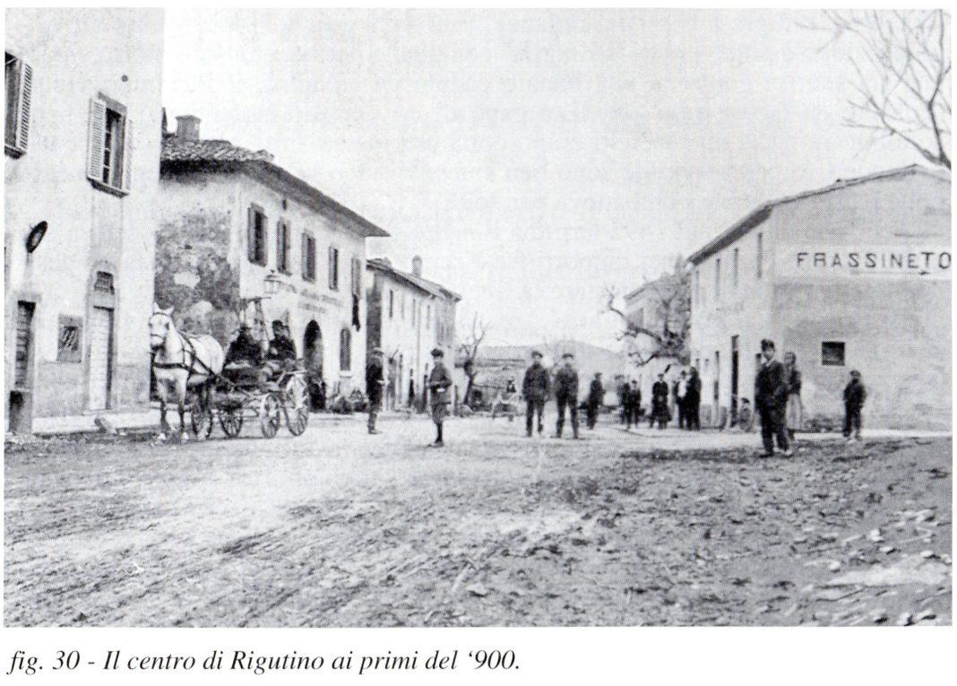 centro rigutino primi del 900
