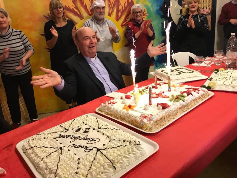 Don Virgilio Annetti, Compleanno, 80 anni, rigutino