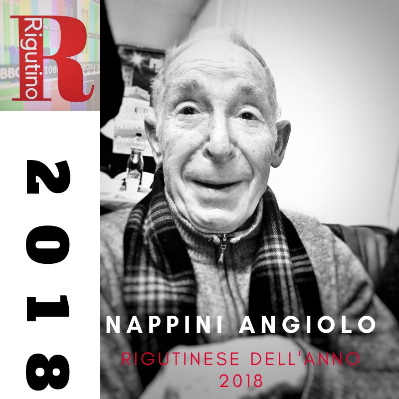 Rigutinese dell'anno 2018, Nappini Angiolo