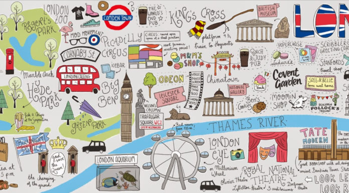 London Style Map