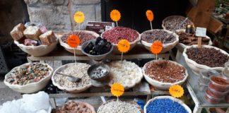 spezie e minerali, Israele, Viaggio di Loris Rondoni