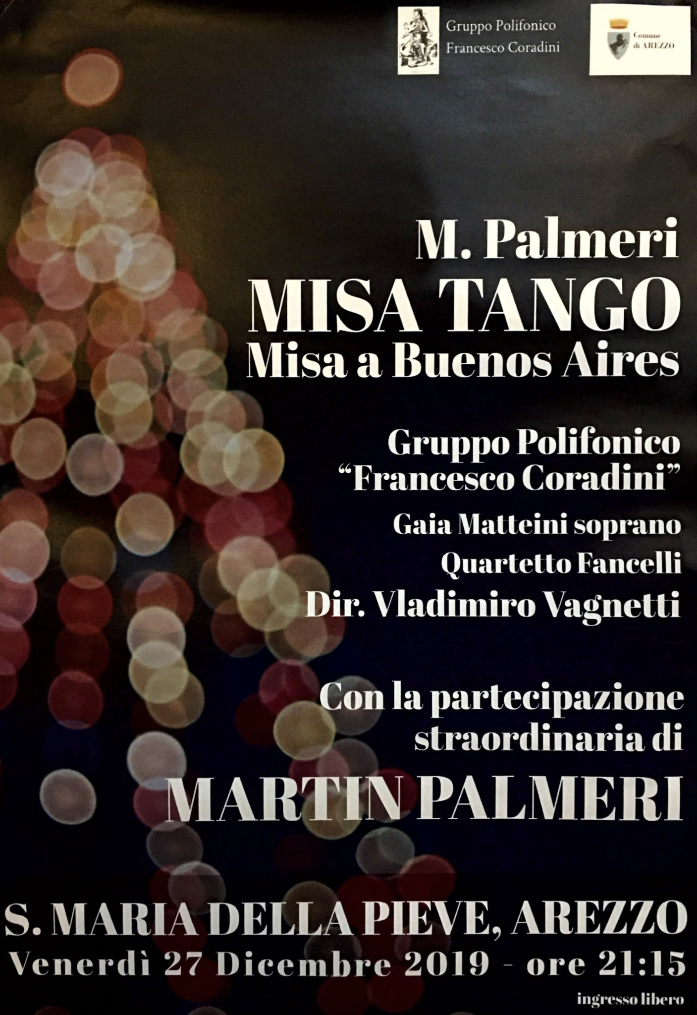 Misa Tango in Pieve ad Arezzo, Associazione Musica Antiqua Rigutino