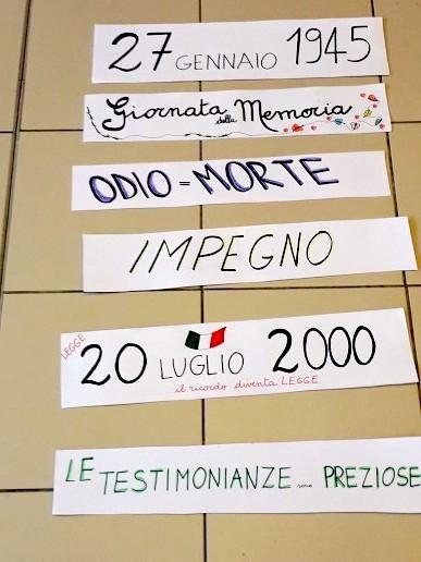 IL RICORDO E LA MEMORIA ALLA SCUOLA ELEMENTARE DI RIGUTINO <p> di Gustavo Cavallini 2