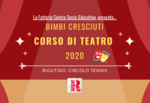 RIGUTINO, CORSO DI TEATRO 2020