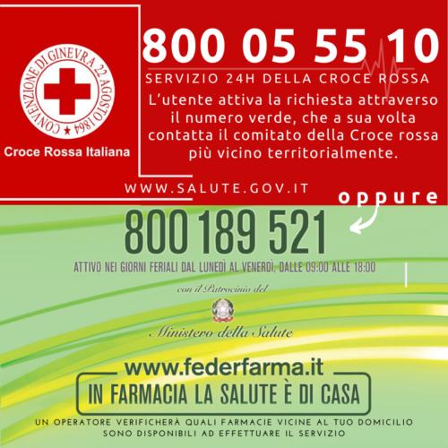 SPESA E FARMACI A DOMICILIO. 1