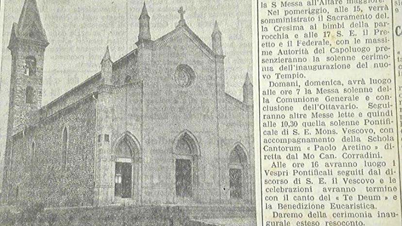 DUE SOLENNI GIORNATE [1936]: L'INAUGURAZIONE DELLA CHIESA PARROCCHIALE DI RIGUTINO. 2