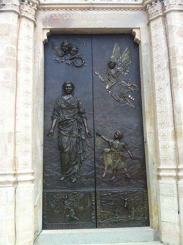 Portale Bronzo Chiesa Rigutino