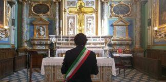 Il Sindaco Mario Agnelli alla Croce del Gesù