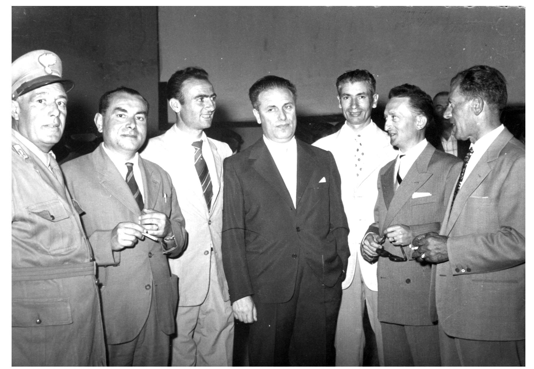 1957 Inaugurazione Filiale della Cassa Risparmio Firenze in Rigutino