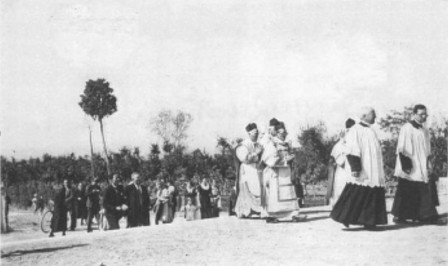LE ROGAZIONI ALLA FINE DEGLI ANNI '40 DEL 1900 PS