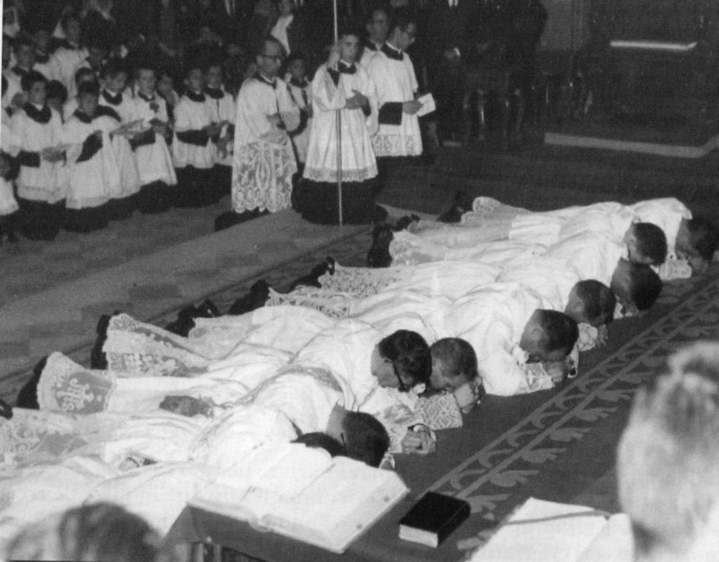 Ordinazione Don Virgilio - 21 Giugno 1964 - Duomo di Arezzo
