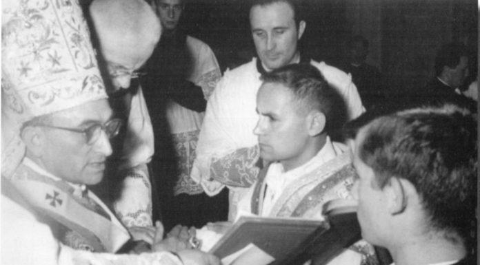 Ordinazione Don Virgilio - 21 Giugno 1964 - Duomo di Arezzo - Vescovo Telesforo Giovanni Cioli