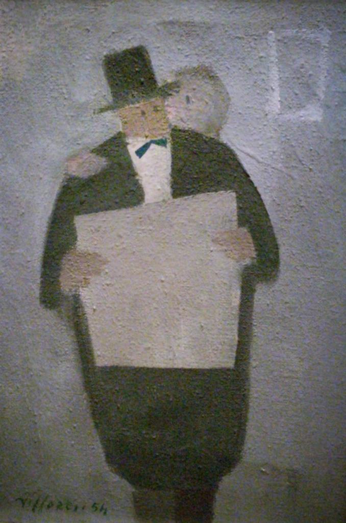 Franco Villoresi abbraccio