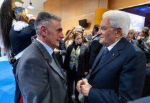 Santino e Pres Mattarella