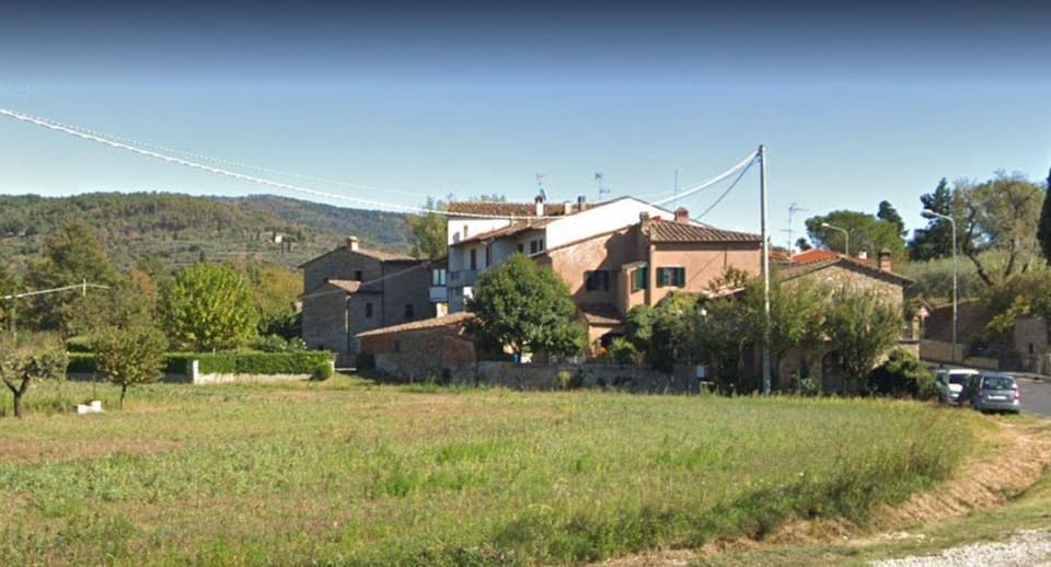 Il Ghetto di Vitiano, venendo da Arezzo