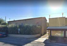 L'abitazione lungo la SR 71 de El Negro