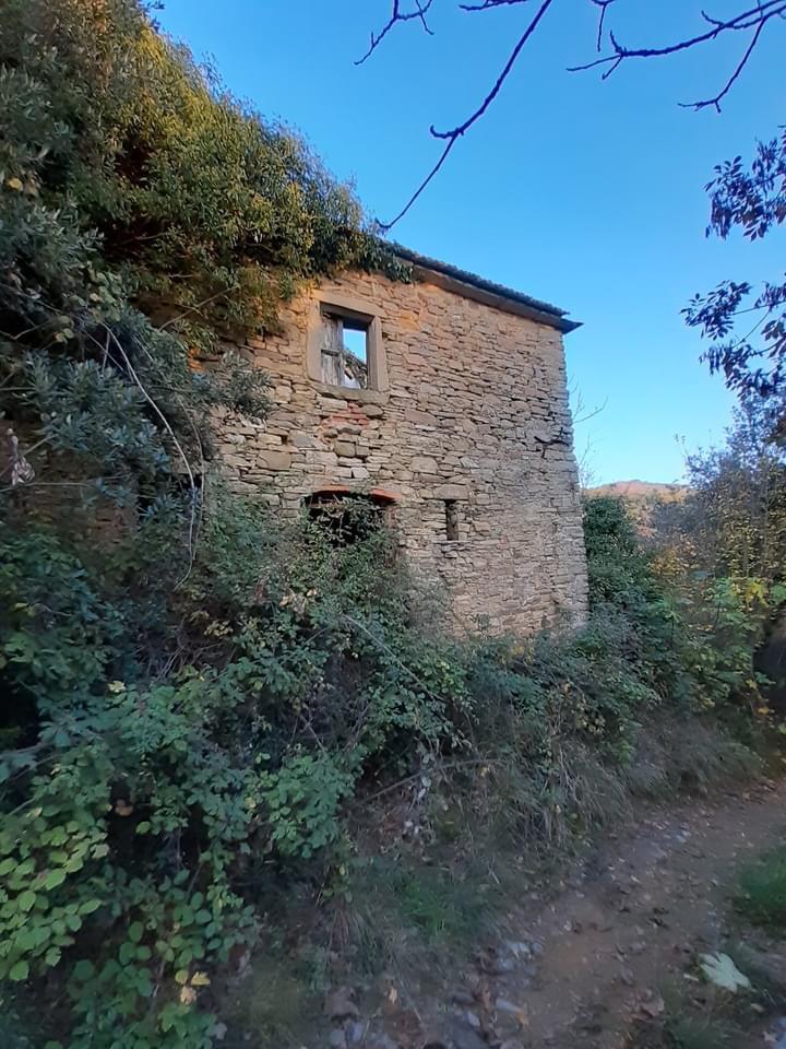Parete occidentale casa Albergotti - Sartiano di Vitiano