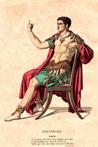 Quinto Sertorio, Sartiano di Vitiano