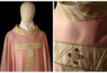 casula sacerdotale rosa Avvento
