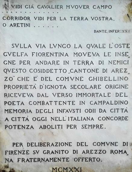 IL «CANTONE DI AREZZO» A FIRENZE. <p>di Bigi Lucio. 3
