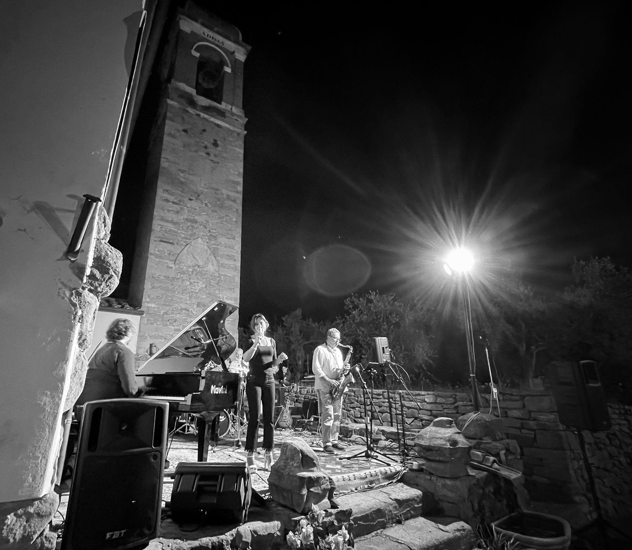 Jazz Club Arezzo in concerto alla Pieve di Rigutino: la jam session del solstizio d'estate. 5